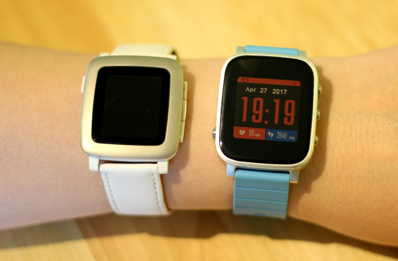 Pebble Time vs SMA Time Q2